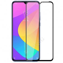 Protector Pantalla Cristal Templado Negro Xiaomi MI A3