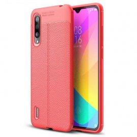 Funda Xiaomi MI A3 Tpu Cuero 3D Roja