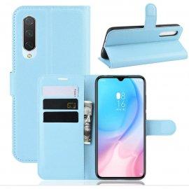 Funda Libro Xiaomi MI A3 Soporte Azul