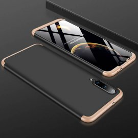 Funda 360 Xiaomi MI A3 Negra y Dorada