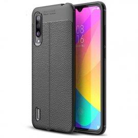 Funda Xiaomi MI A3 Tpu Cuero 3D Negra