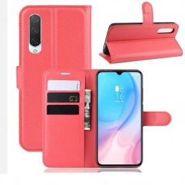 Funda Libro Xiaomi MI A3 Soporte Roja