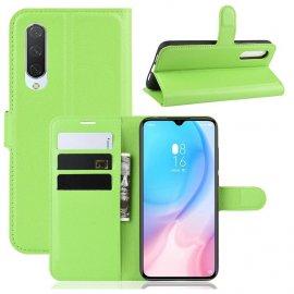 Funda Libro Xiaomi MI A3 Soporte Verde