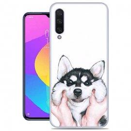 Funda Xiaomi Mi A3 Gel Dibujo Perro