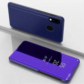 Funda Libro Smart Translucida Samsung Galaxy A20 Lila