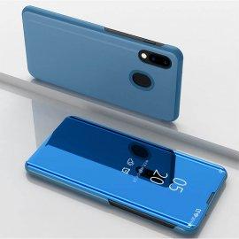 Funda Libro Smart Translucida Samsung Galaxy A20 Azul