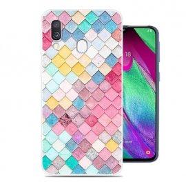 Funda Samsung Galaxy A20e Gel Dibujo Acuarela