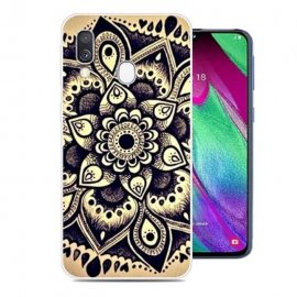 Funda Samsung Galaxy A20e Gel Dibujo Flor