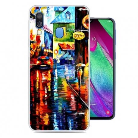 Funda Samsung Galaxy A20e Gel Dibujo Pintura