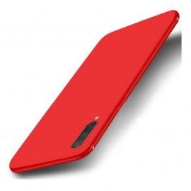 Funda Gel Xiaomi MI 9 Lite Flexible y lavable Mate Roja
