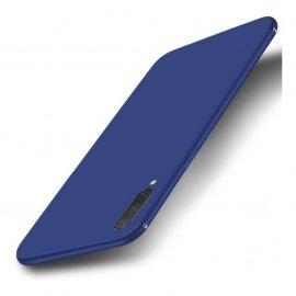 Funda Gel Xiaomi MI 9 Lite Flexible y lavable Mate Azul