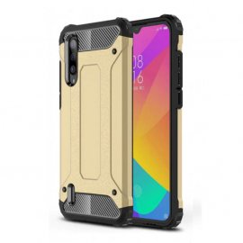 Funda Xiaomi MI 9 Lite Shock Resistente Dorada