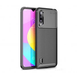Funda Xiaomi MI 9 Lite Tpu Carbonix 3D Negra