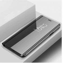 Funda Libro Smart Translucida Xiaomi MI 9 Lite Negra