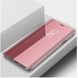 Funda Libro Smart Translucida Xiaomi MI 9 Lite Rosa