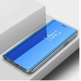 Funda Libro Smart Translucida Xiaomi MI 9 Lite Azul