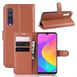 Funda Libro Xiaomi Redmi Note 7 cuero Soporte Marron