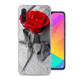 Funda Xiaomi MI 9 Lite Gel Dibujo Rosa