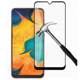 Protector Pantalla Cristal Templado Negro Samsung Galaxy A10