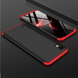 Funda 360 Samsung Galaxy A10 Roja y Negra