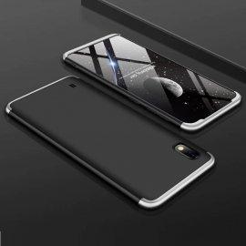 Funda 360 Samsung Galaxy A10 Gris y Negra