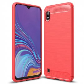 Funda Samsung Galaxy A10 Tpu 3D Roja