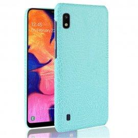 Carcasa Samsung Galaxy A10 Cocodrilo Turquesa