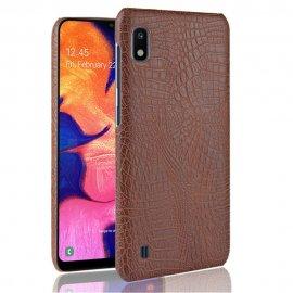 Carcasa Samsung Galaxy A10 Cocodrilo Marron