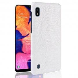 Carcasa Samsung Galaxy A10 Cocodrilo Blanca