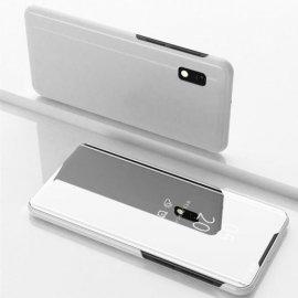 Funda Libro Smart Translucida Samsung Galaxy A10 Blanca