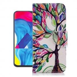Funda Libro Samsung Galaxy A10 Soporte Arbol