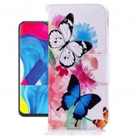 Funda Libro Samsung Galaxy A10 Soporte Mariposa
