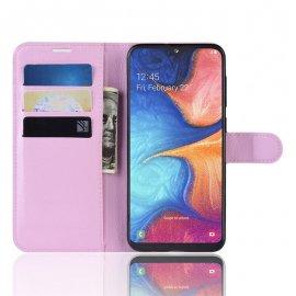 Funda Libro Samsung Galaxy A10 Soporte Rosa