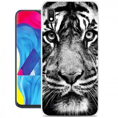 Funda Samsung Galaxy A10 Gel Dibujo Funda Samsung Galaxy A10 Gel Dibujo Tigre