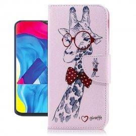 Funda Libro Samsung Galaxy A10 Soporte Girafa