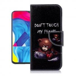 Funda Libro Samsung Galaxy A10 Soporte Oso