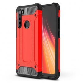 Funda Xiaomi Redmi Note 8 Shock Roja