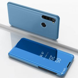Funda Xiaomi Redmi Note 8 libro Smart Vision Azul