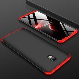Funda 360 Xiaomi Redmi 8A Roja y Negra