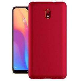 Funda Xiaomi Redmi 8A lavable Mate Roja Extra fina