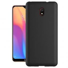 Funda Xiaomi Redmi 8A lavable Mate Negra Extra fina
