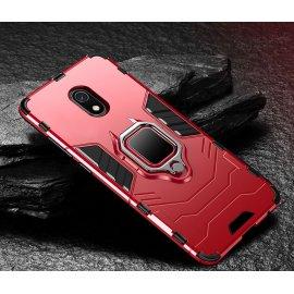Funda Xiaomi Redmi 8A Anillo Soporte Roja
