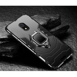 Funda Xiaomi Redmi 8A Anillo Soporte Negra