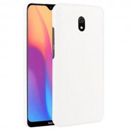 Carcasa Xiaomi Redmi 8A Cocodrilo Blanca