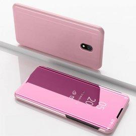 Funda Libro Smart Translucida Xiaomi Redmi 8A Rosa