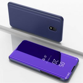 Funda Libro Smart Translucida Xiaomi Redmi 8A Morada