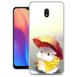 Funda Xiaomi Redmi 8A Gel Dibujo Ratoncito