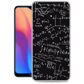 Funda Xiaomi Redmi 8A Gel Dibujo Formulas
