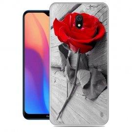 Funda Xiaomi Redmi 8A Gel Dibujo Rosa
