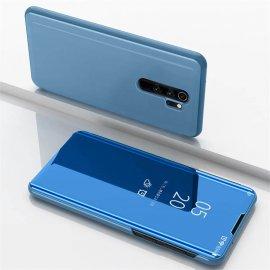 Funda Xiaomi Redmi Note 8 Pro libro Smart Vision Azul